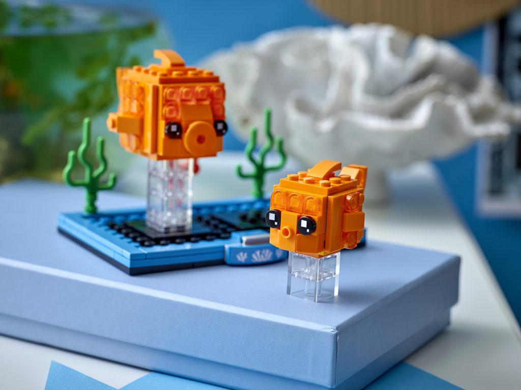 LEGO BrickHeadz 40442 Goldfish 1