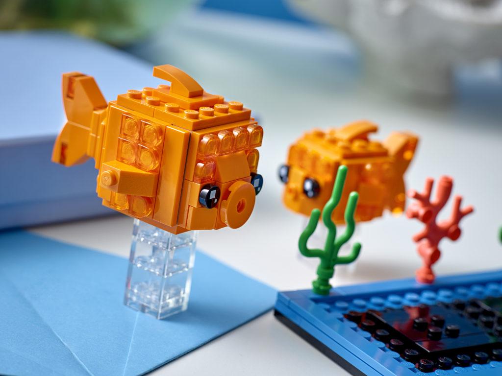 LEGO BrickHeadz 40442 Goldfish 2