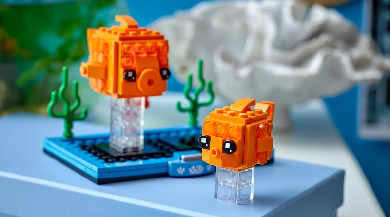 LEGO BrickHeadz 40442 Goldfish Featured