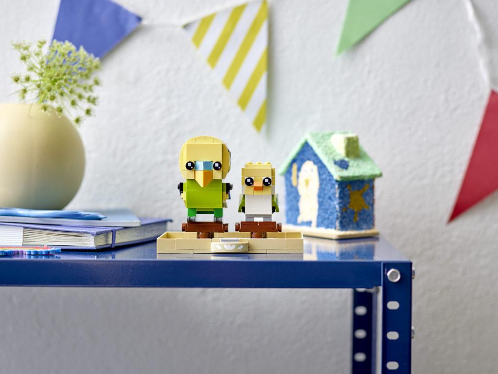 LEGO BrickHeadz 40443 Budgie 2
