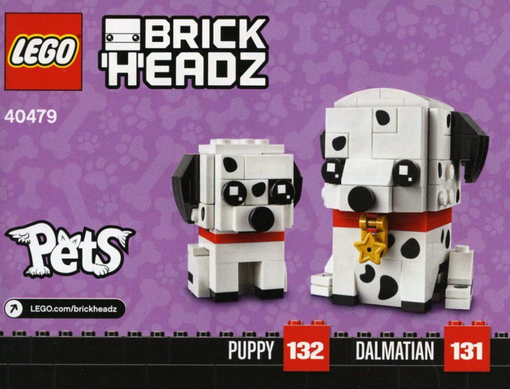 LEGO BrickHeadz 40479 Dalmatians 1