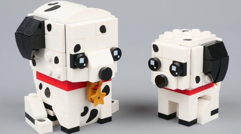 LEGO BrickHeadz 40479 Dalmatians featured