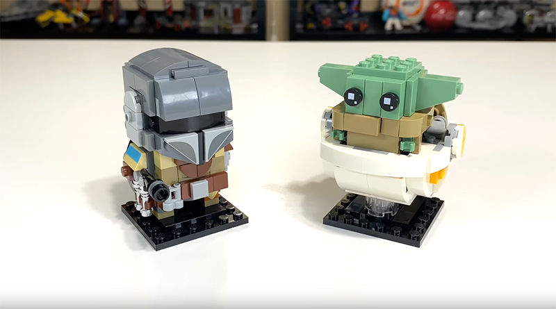 LEGO BrickHeadz 75317 The Mandalorian The Child Video Featured