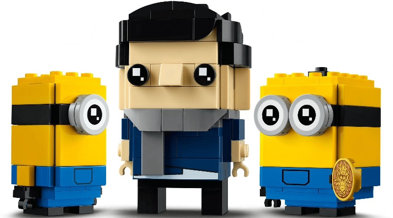 LEGO BrickHeadz Minions 40420 Gru Stuart And Otto Featured