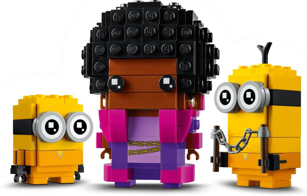 LEGO BrickHeadz Minions 40421 Belle Bottom Bob And Kevin 4