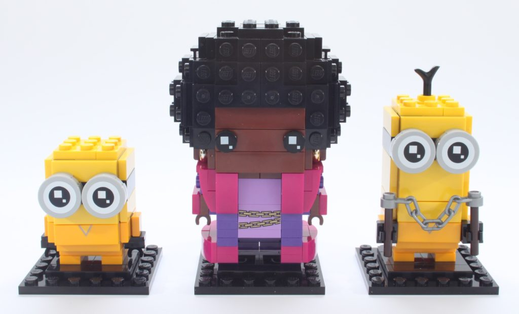 LEGO BrickHeadz Minions 40421 Belle Bottom Kevin And Bob 1