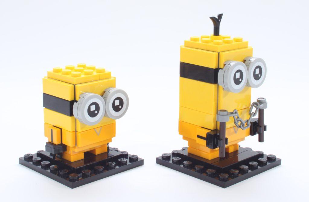 LEGO BrickHeadz Minions 40421 Belle Bottom Kevin And Bob 10
