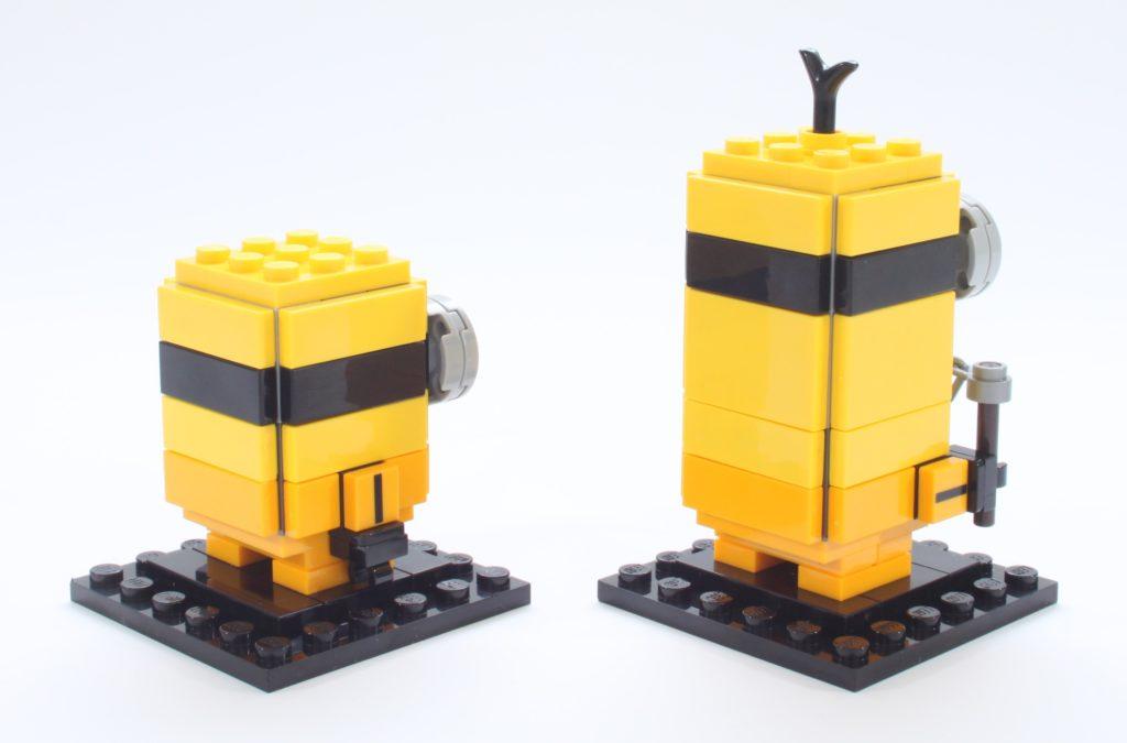 LEGO BrickHeadz Minions 40421 Belle Bottom Kevin And Bob 12