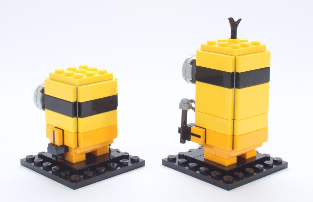 LEGO BrickHeadz Minions 40421 Belle Bottom Kevin And Bob 14