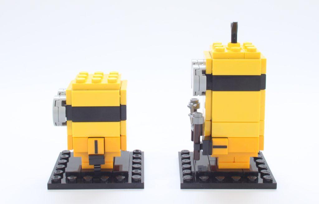 LEGO BrickHeadz Minions 40421 Belle Bottom Kevin And Bob 15