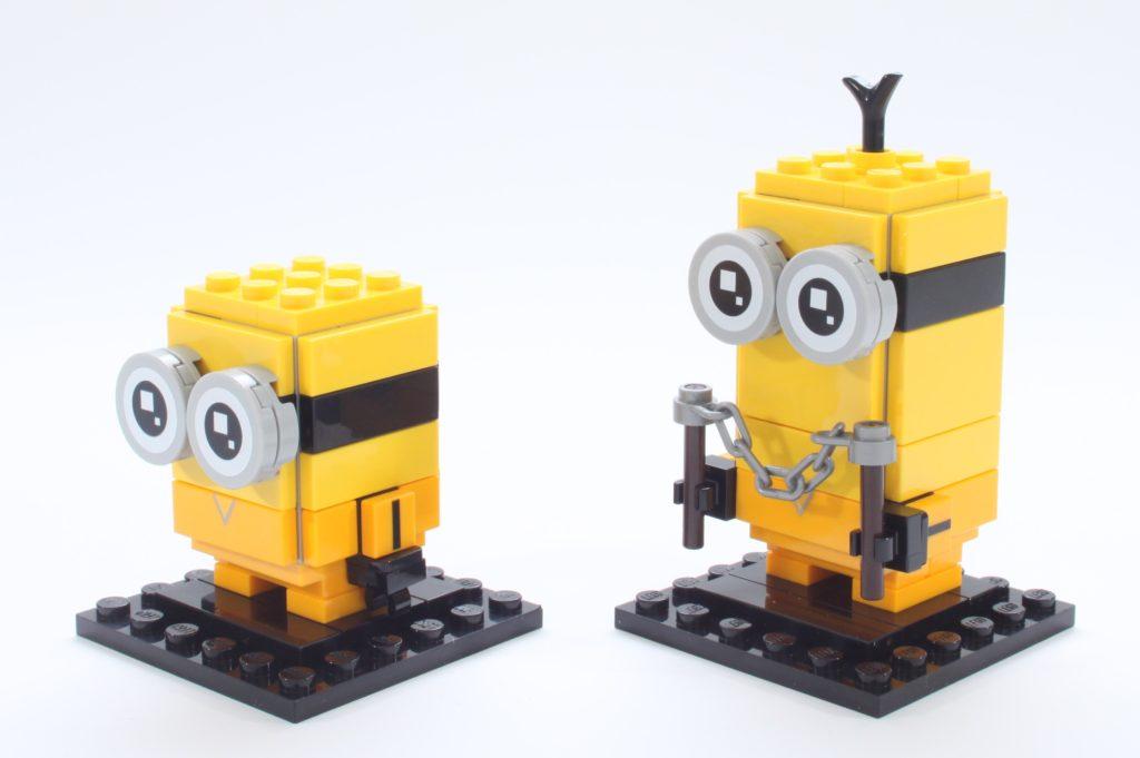 LEGO BrickHeadz Minions 40421 Belle Bottom Kevin And Bob 16