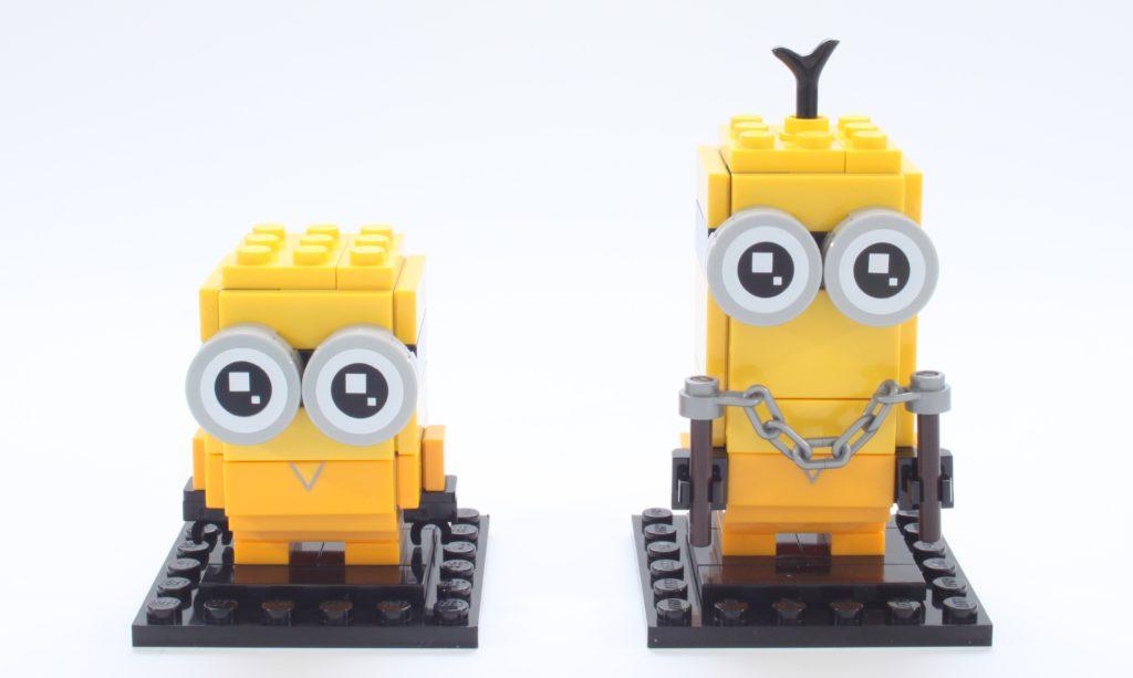 LEGO BrickHeadz Minions 40421 Belle Bottom Kevin And Bob 9