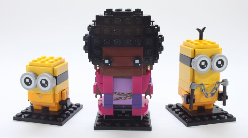 LEGO BrickHeadz Minions 40421 Belle Bottom Kevin And Bob Review Featured