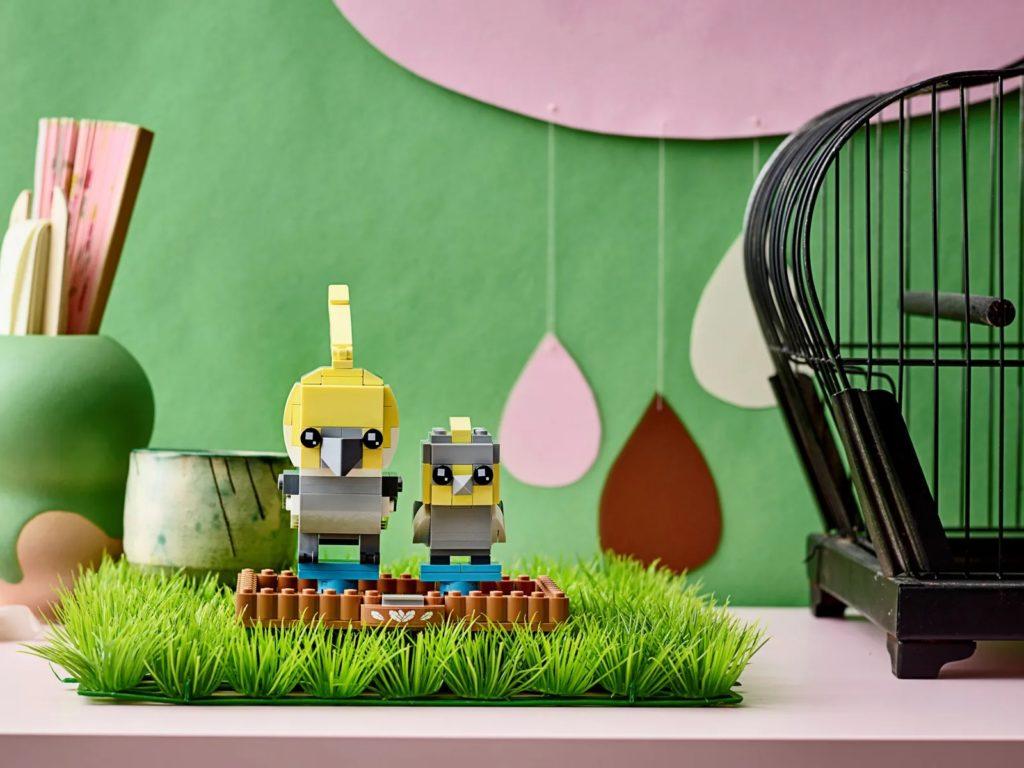 LEGO BrickHeadz Pets 40481 Cockatiel 3