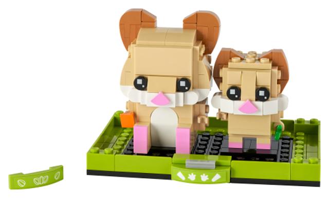 LEGO BrickHeadz Pets 40482 Hamster 1