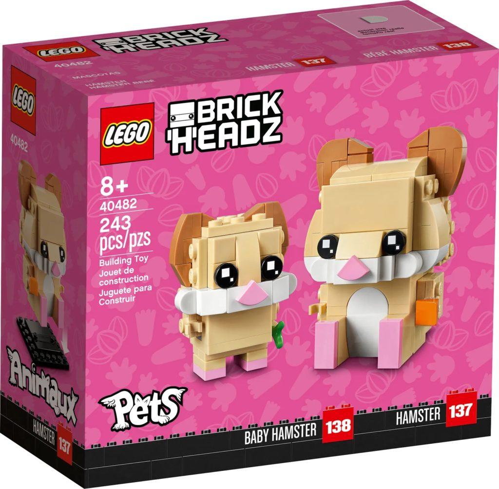 LEGO BrickHeadz Pets 40482 Hamster 2