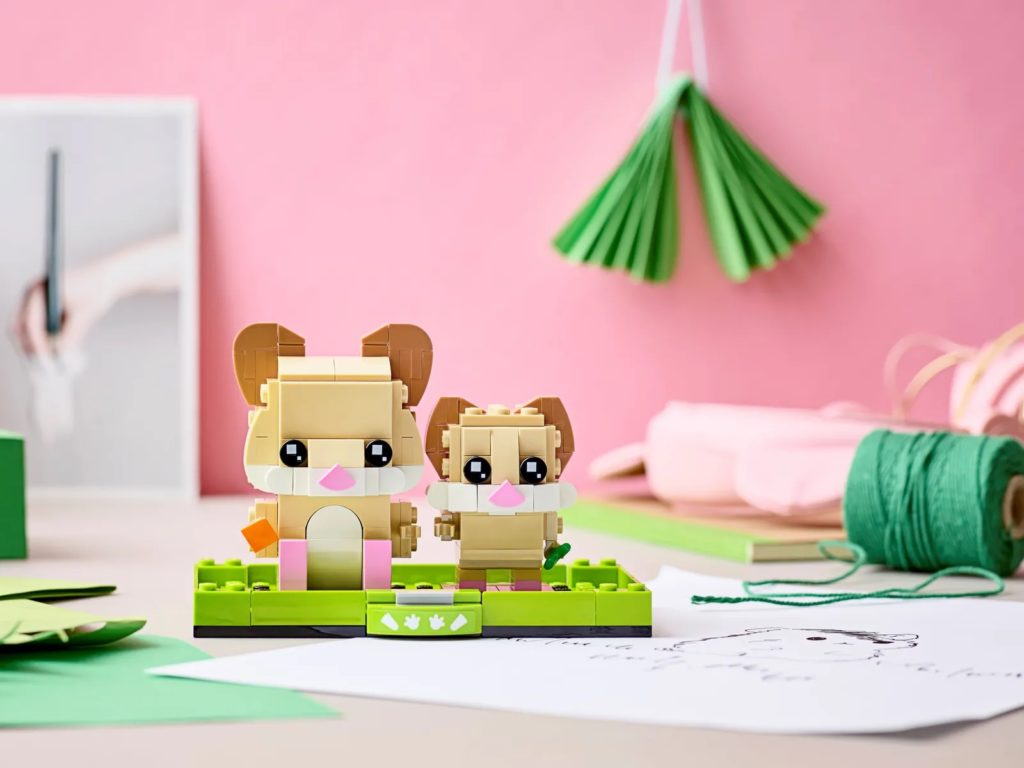 LEGO BrickHeadz Pets 40482 Hamster 4