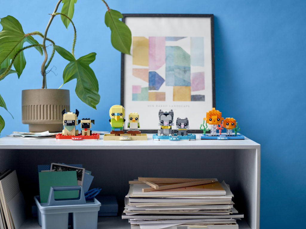 LEGO BrickHeadz Pets full range 2021