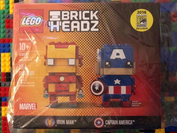 LEGO BrickHeadz SDCC Catawiki 41493
