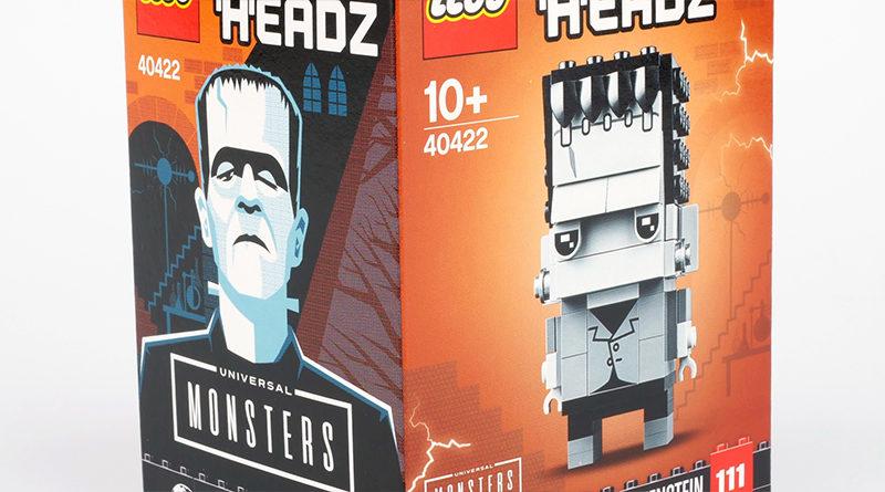 LEGO BrickHeadz Universal Monsters 40422 Frankenstein Featured 800x445