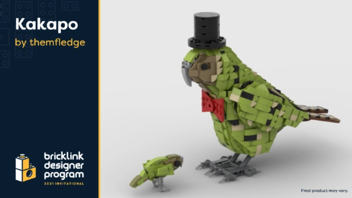 LEGO BrickLink Designer Program Kakapo