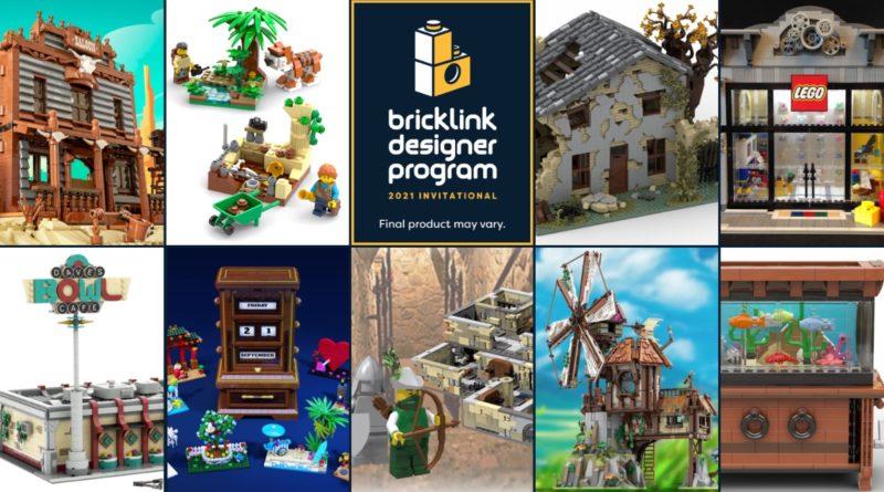 LEGO BrickLink Designer Program Round 2 sets featured