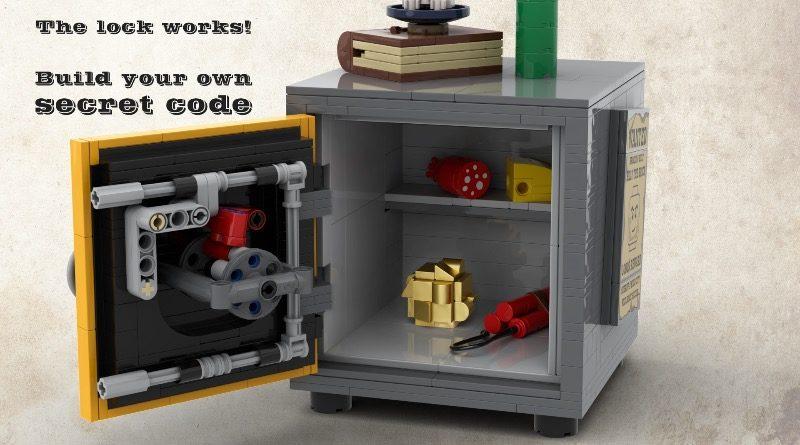 LEGO BrickLink Designer Program Sheriffs Safe featured