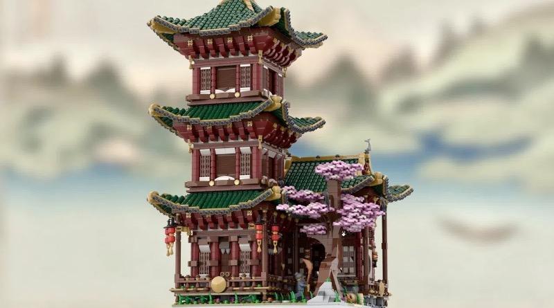 LEGO BrickLink Designer Program Temple Of Hermit Featured