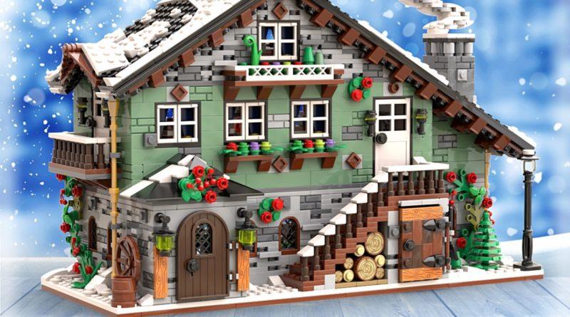 LEGO BrickLink Designer Program Winter Chalet featured