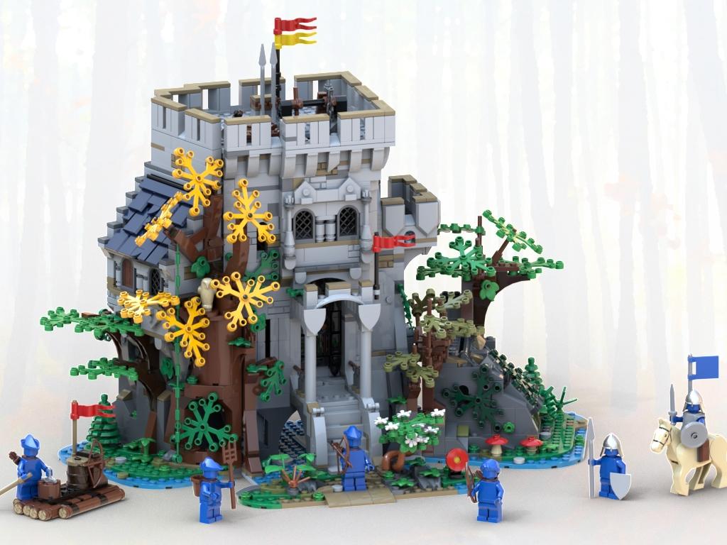 LEGO BrickLink Castle Updated