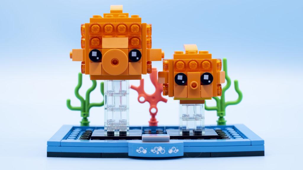 LEGO Brickheadz Pets 40442 Goldfish 1