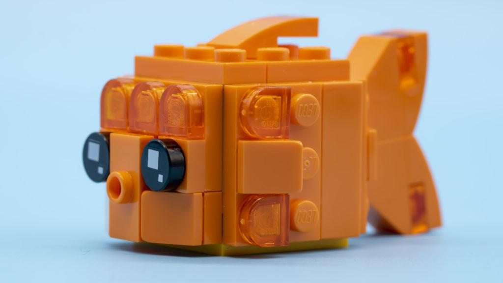 LEGO Brickheadz Pets 40442 Goldfish 12