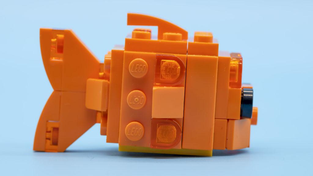 LEGO Brickheadz Pets 40442 Goldfish 13