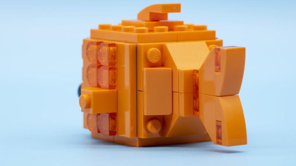 LEGO Brickheadz Pets 40442 Goldfish 4