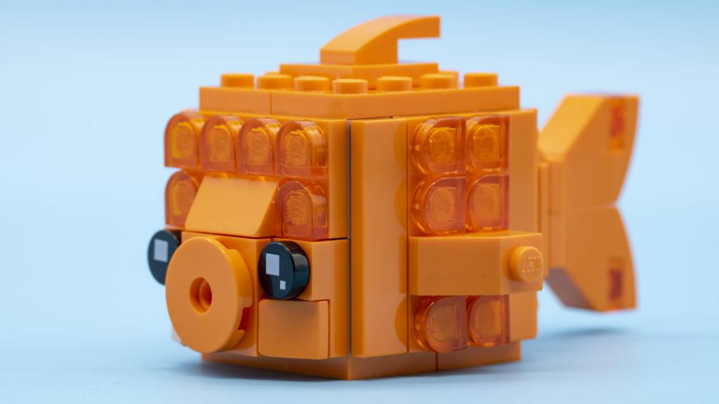 LEGO Brickheadz Pets 40442 Goldfish 5