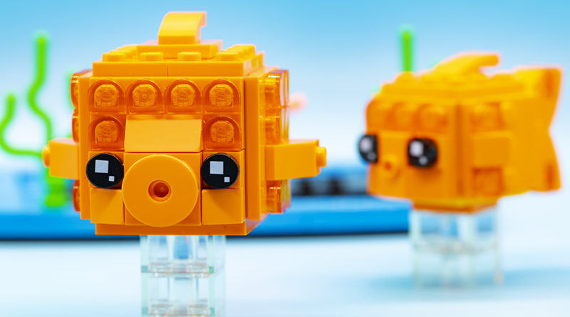LEGO Brickheadz Pets 40442 Goldfish FEATURED Resized 1 800x445