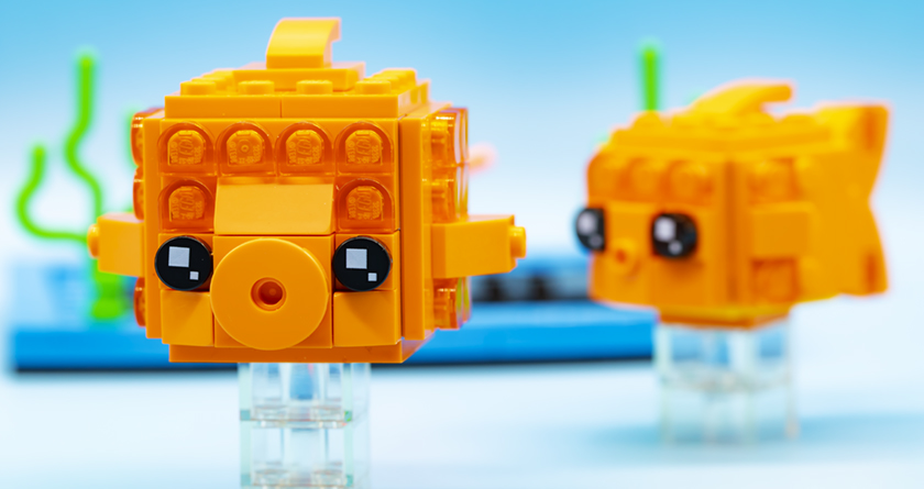 LEGO Brickheadz Pets 40442 Goldfish FEATURED Resized 1