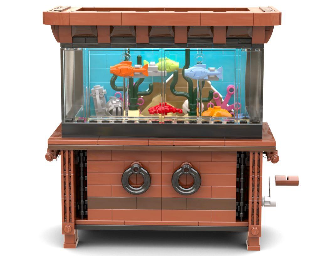 LEGO Bricklink Aquarium Updated