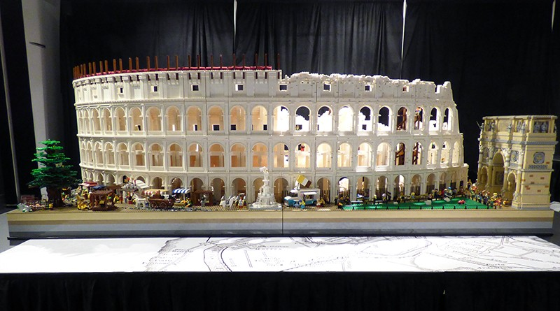 LEGO Brickman Experience Colosseum Featured