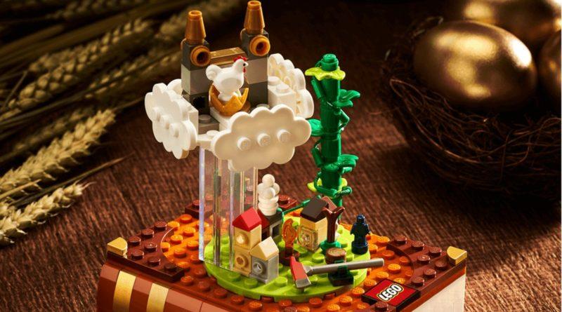 LEGO Bricktober 2021 Jack in the Beanstalk lifestyle featured