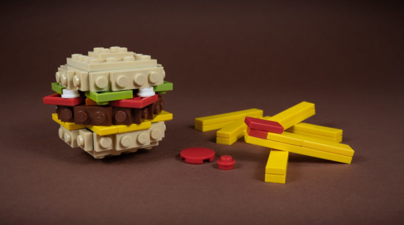 LEGO Burger 800x445