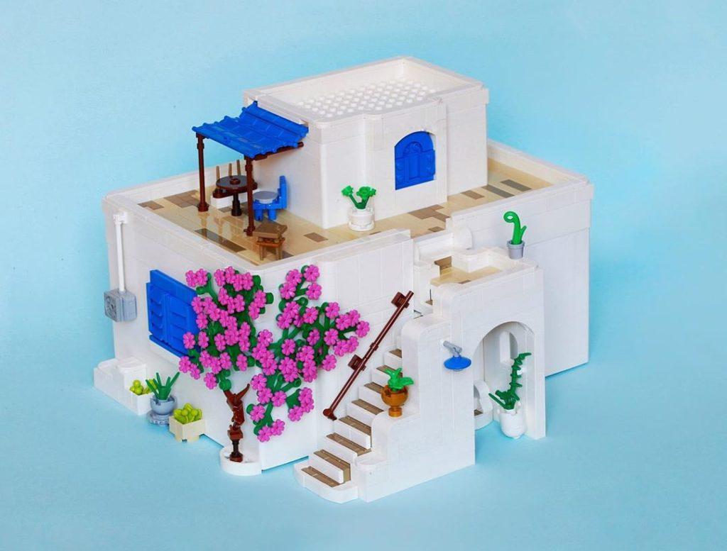 LEGO Bygglek Greek House