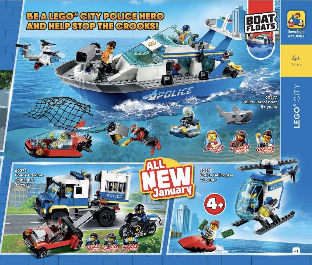 LEGO CITY 2021 Catalogue 1