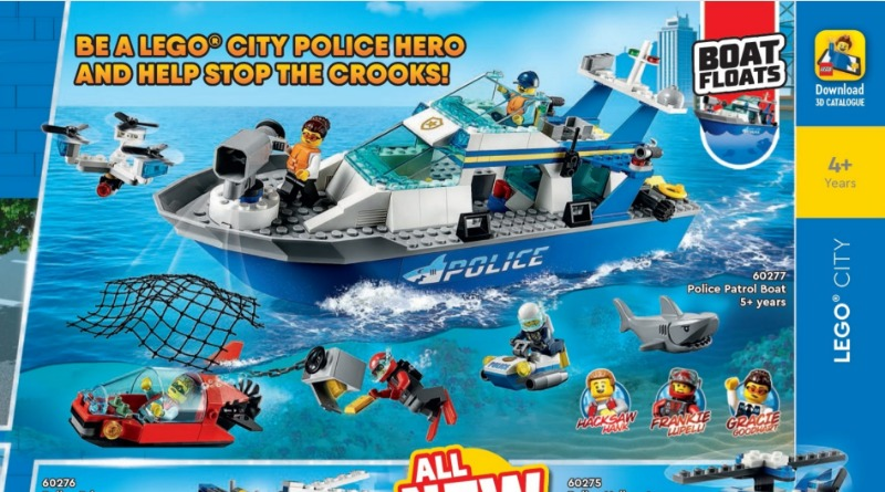 LEGO CITY 2021 Catalogue Featured