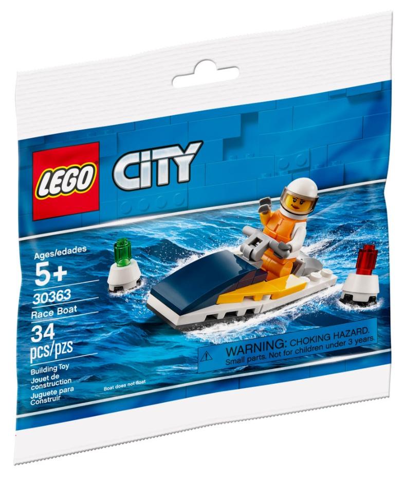 LEGO CITY 30363 Race Boat