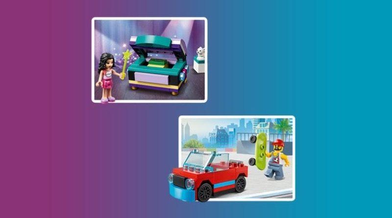 LEGO CITY 30568 Skater Friends 30414 Emmas Magical Box promo featured