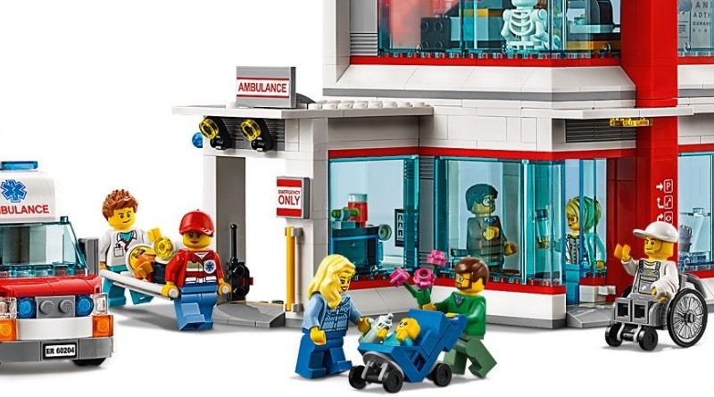 LEGO CITY 60204 City Hospital featured