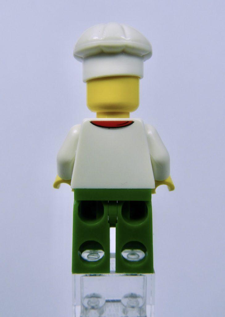 LEGO CITY 60292 Town Center Minifigure Chef Back