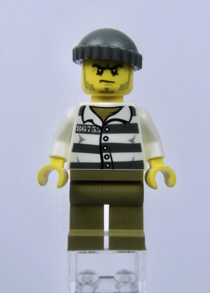 LEGO CITY 60292 Town Center Minifigure Crook Front