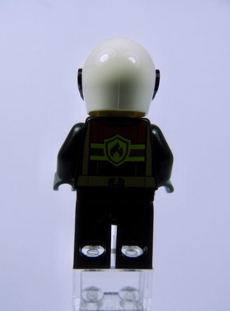 LEGO CITY 60292 Town Center Minifigure Fire Back